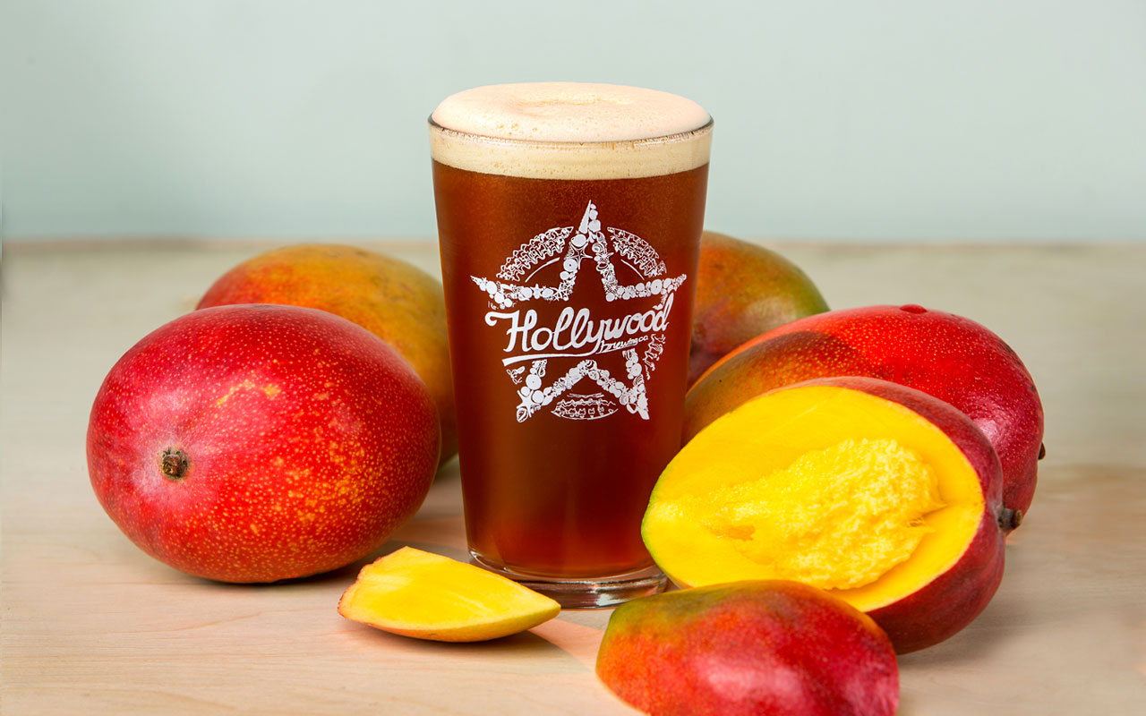 MANGO IPA beer Hollywood Brewing