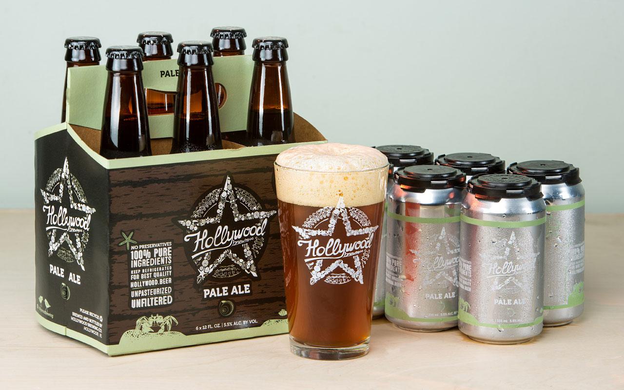 PALE ALE beer Hollywood Brewing