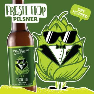 FRESH HOP PILSNER | 5.4% | 40 IBU