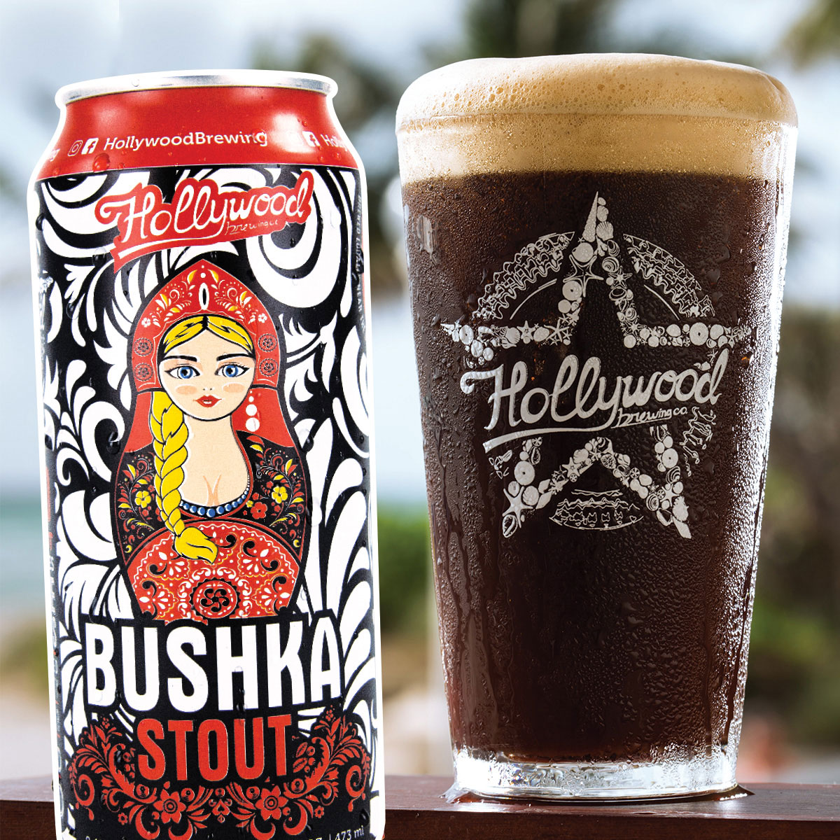 BushkaStout Hollywood Brewing