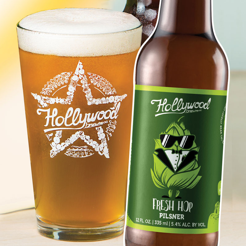 Fresh Hop Pilsner Hollywood Brewing