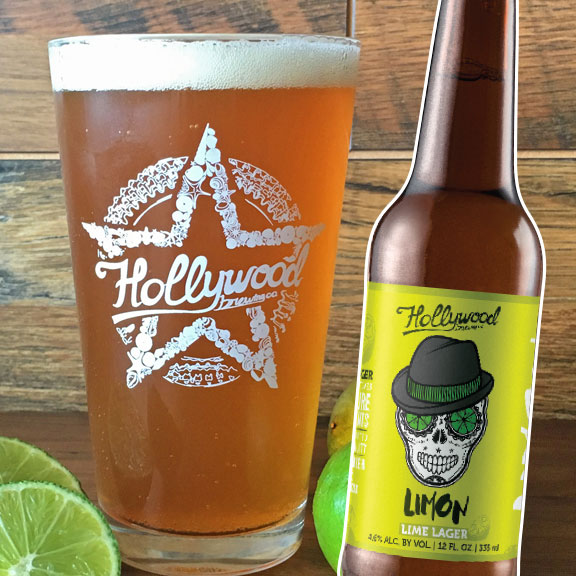 Limon Lager Hollywood Brewing