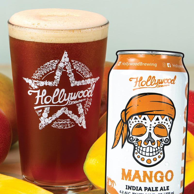 Mango IPA Hollywood Brewing