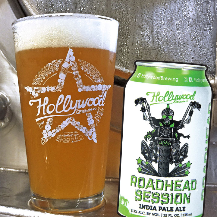 RoadHead Session IPA Hollywood Brewing